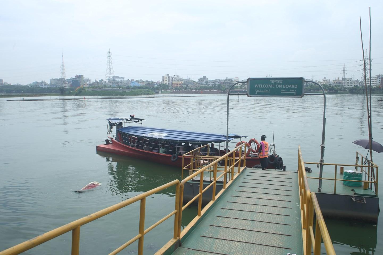 Hatirjheel and boat