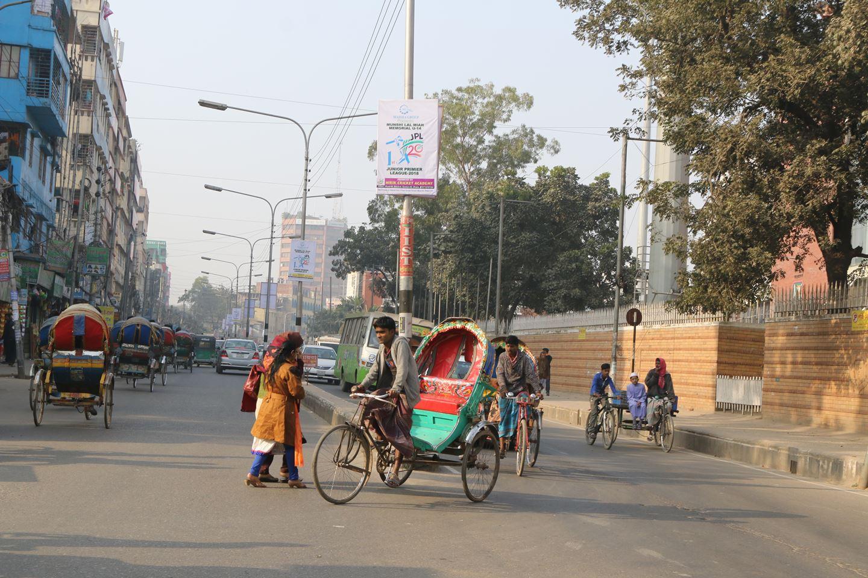 Transportation at Mirpur 2