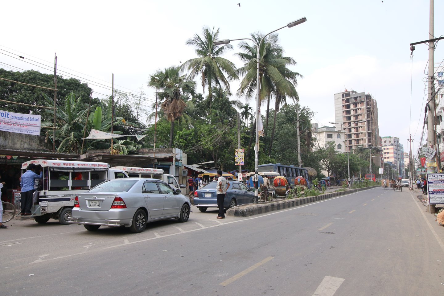 A road in Mohammadpur