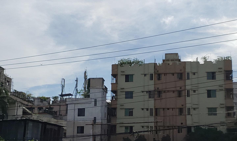 Residential buildings in North Badda